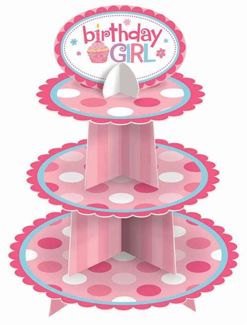 Stojalo za muffine, BIRTHDAY GIRL