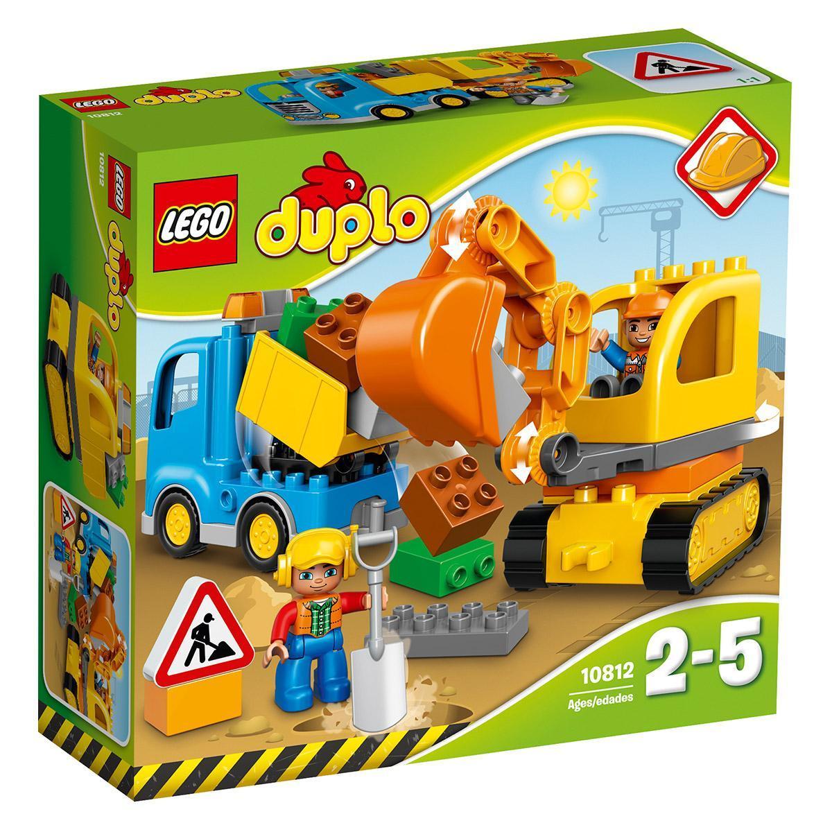 LEGO 10812 – Tovornjak in bager na gosenicah