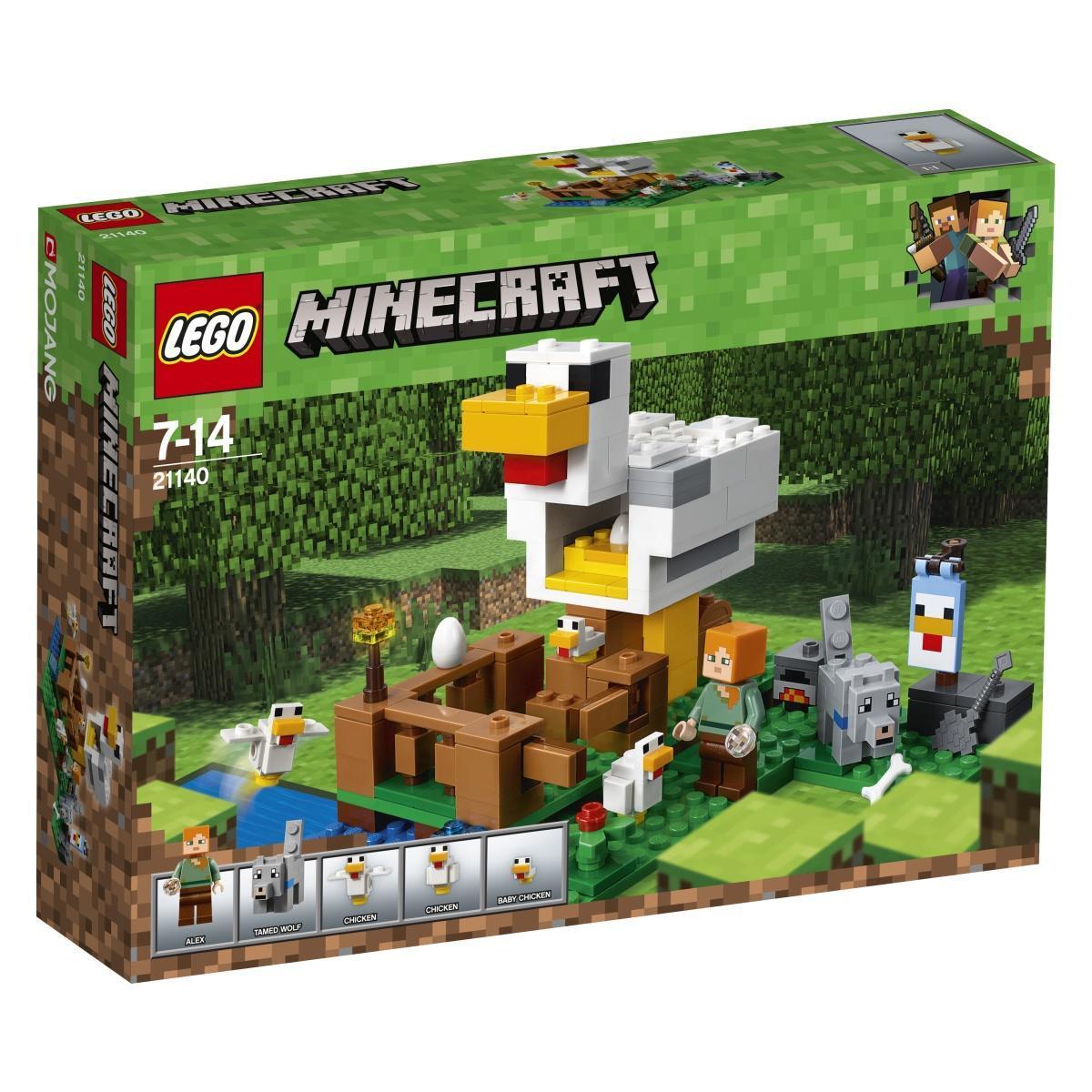 LEGO 21140 –  Minecraft Kokošnjak