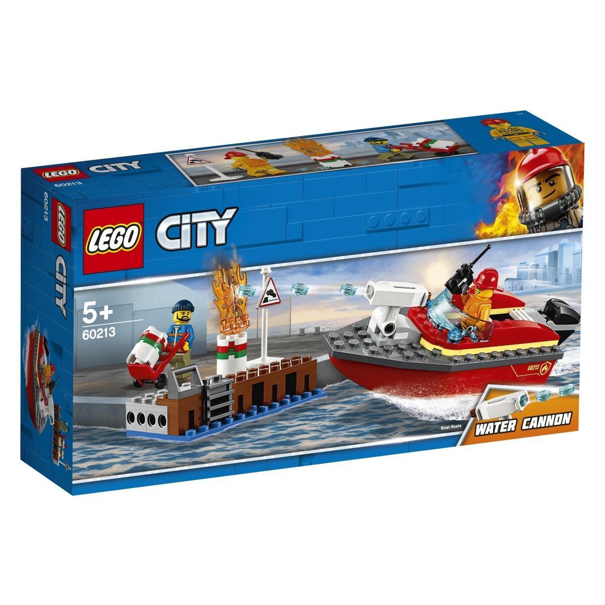 LEGO 60213 – Požar na pomolu