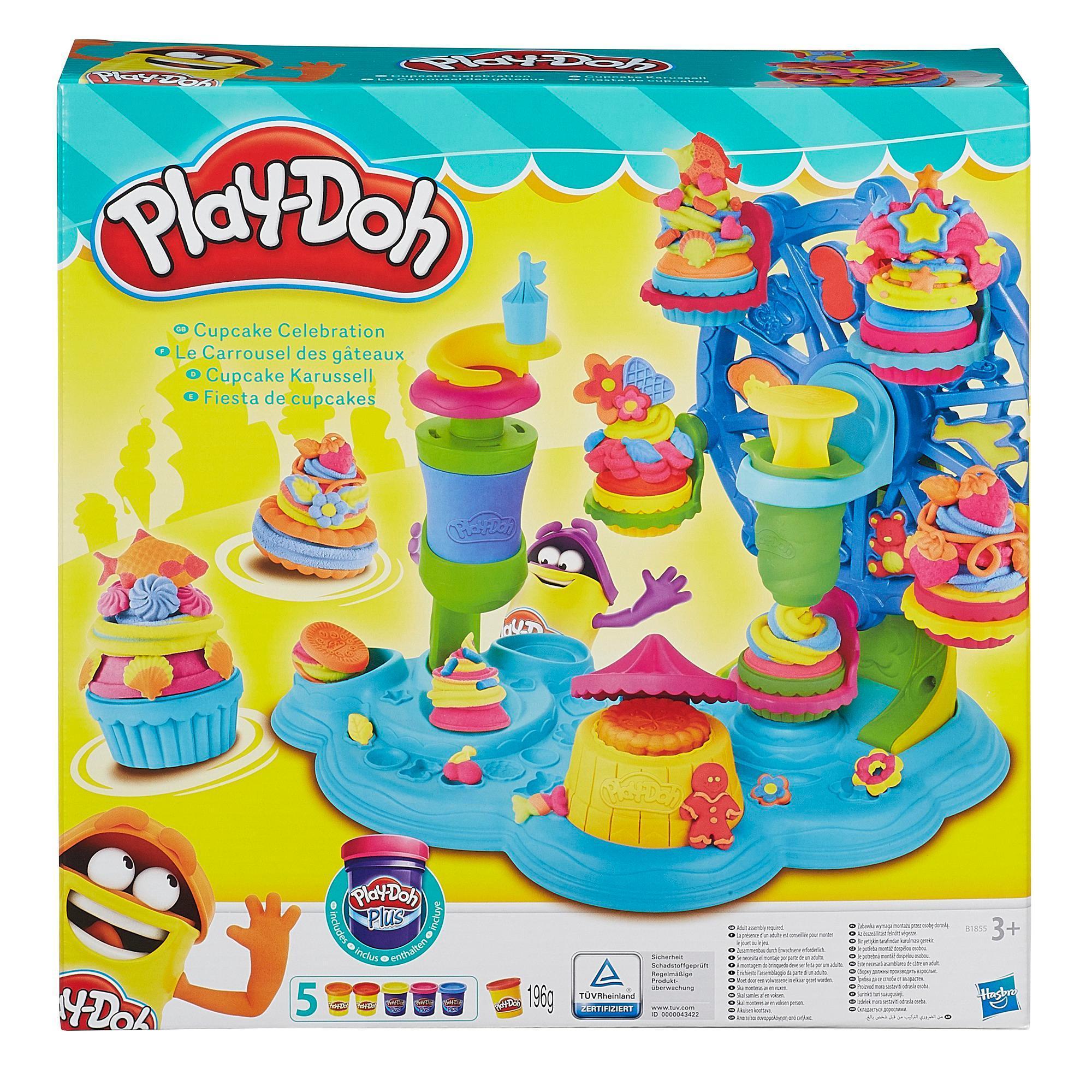 Plastelin PLAY-DOH praznovanje s torticami