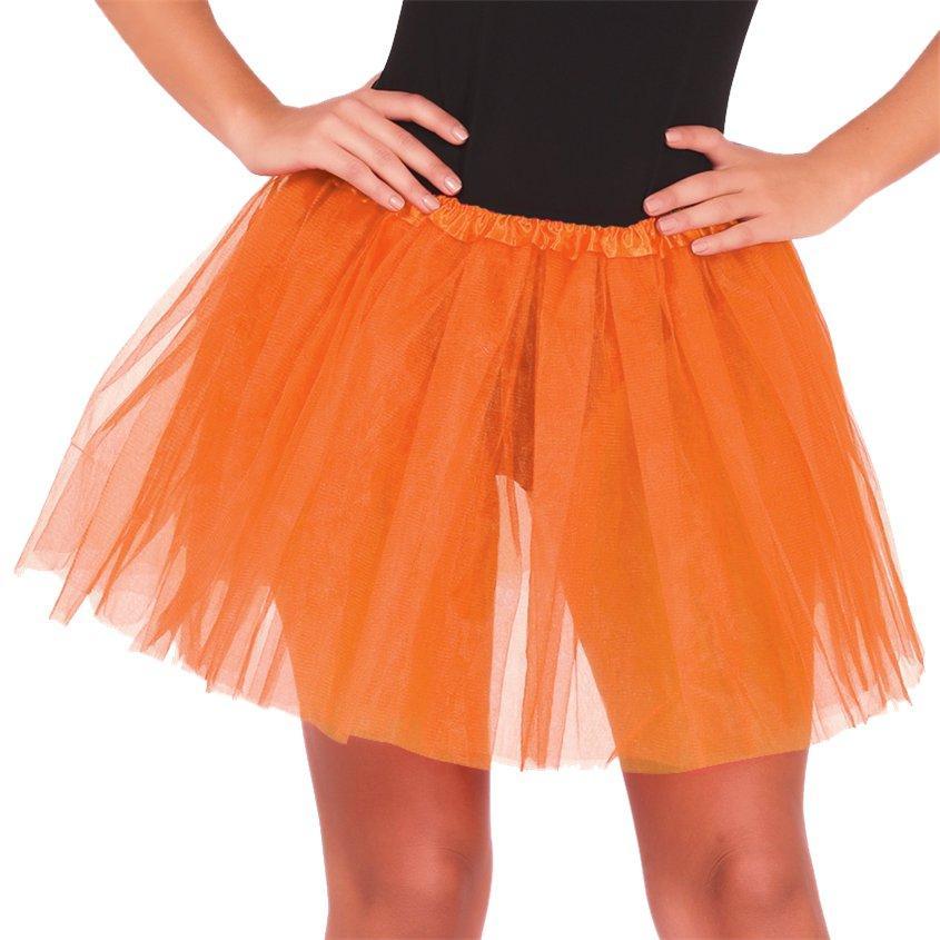 Oranžno TUTU krilo, žensko