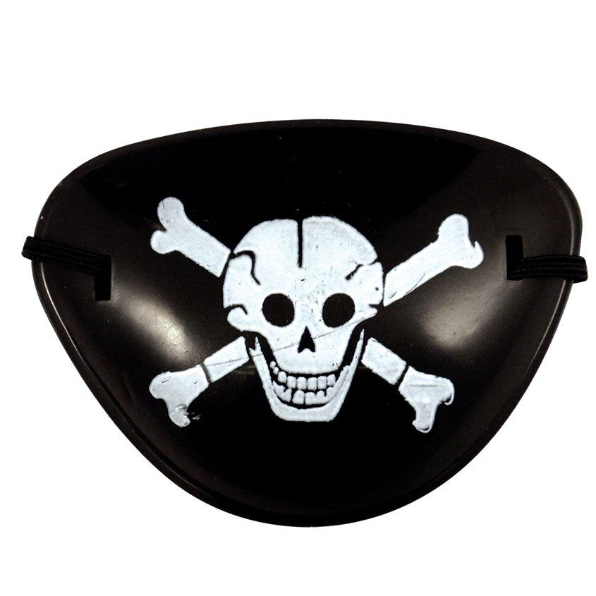 Očesno pokrivalo za pirata