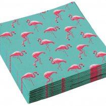 servietki flamingo