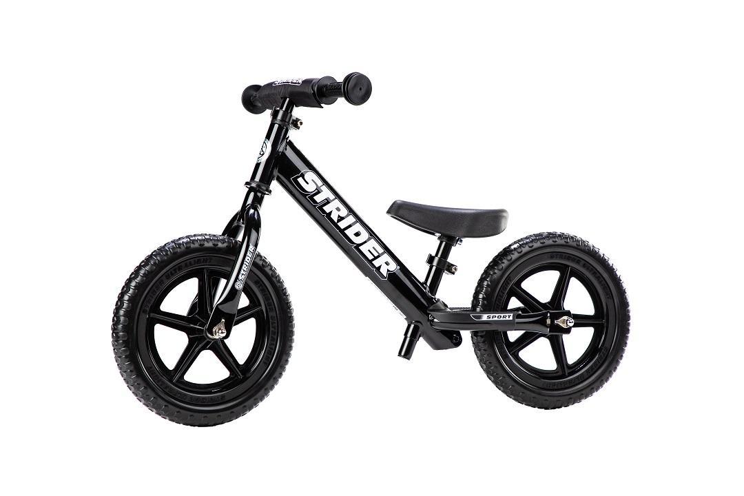 Bicikl bez pedala STRIDER SPORT, crn