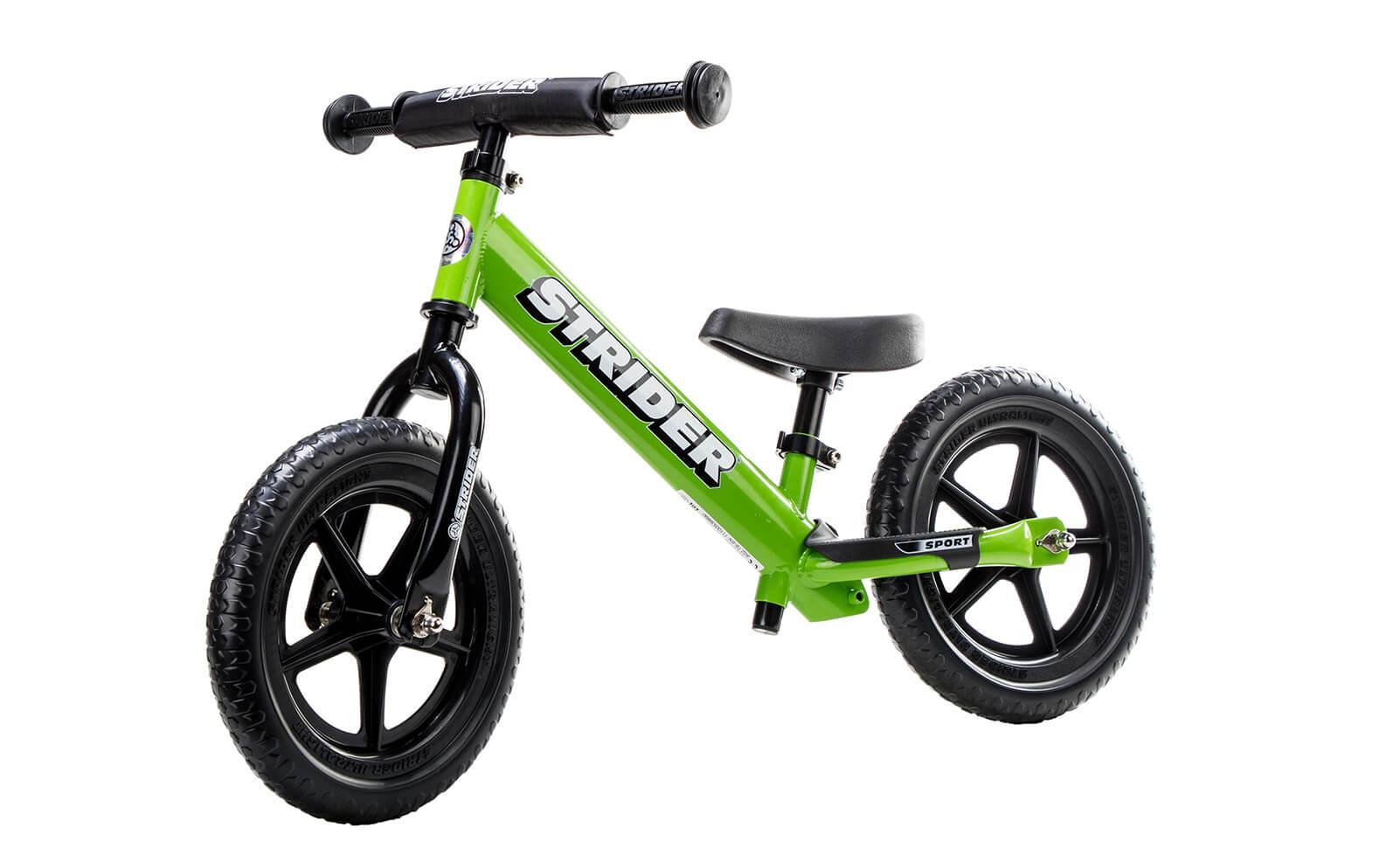 Bicikl bez pedala STRIDER SPORT, zelen