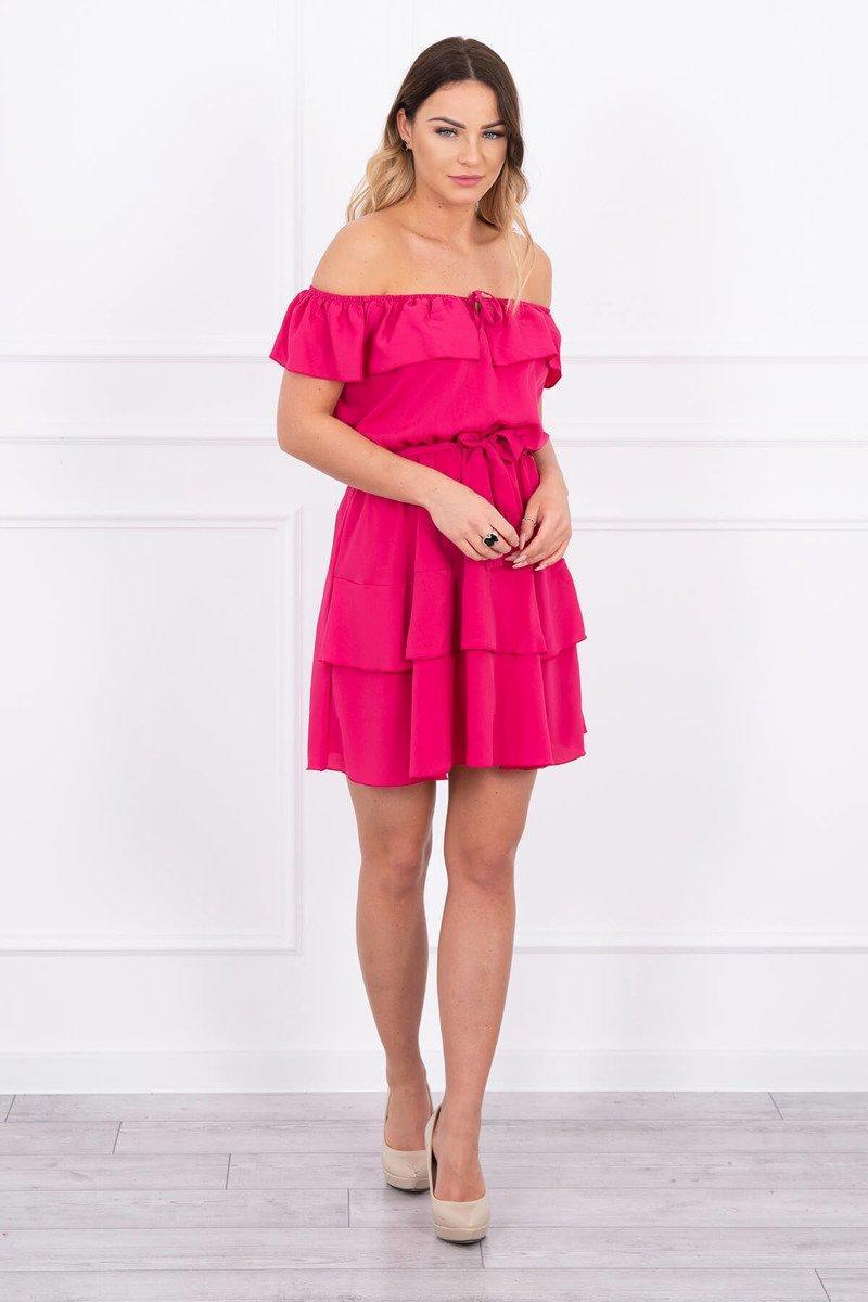 eng_pl_Off-the-shoulder-dress-fuchsia-14977_1