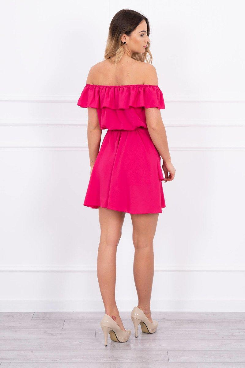 eng_pl_Off-the-shoulder-dress-fuchsia-14977_2