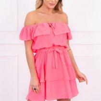 eng_pl_Off-the-shoulder-dress-pink-neon-14981_3