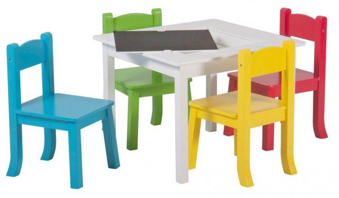 Set stol + stolice, RAINBOW