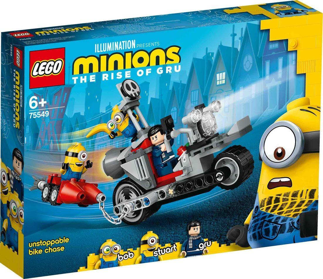 LEGO 75549 – MINIONS nezaustavljiv lov na motoru
