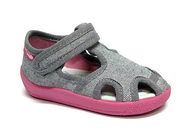 Dječje Papuče REN, denim sive 20