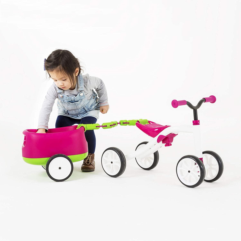 CHILLAFISH guralica na četiri kotača Quadie + Trailie, rozi