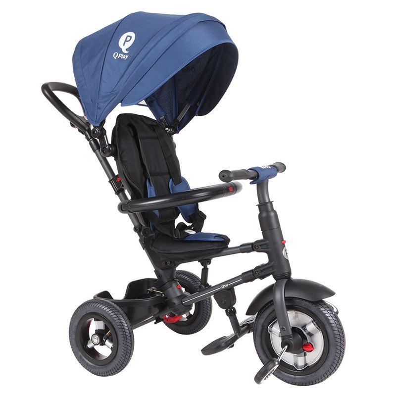 Zložljiv tricikel QPLAY RITO AIR – blue