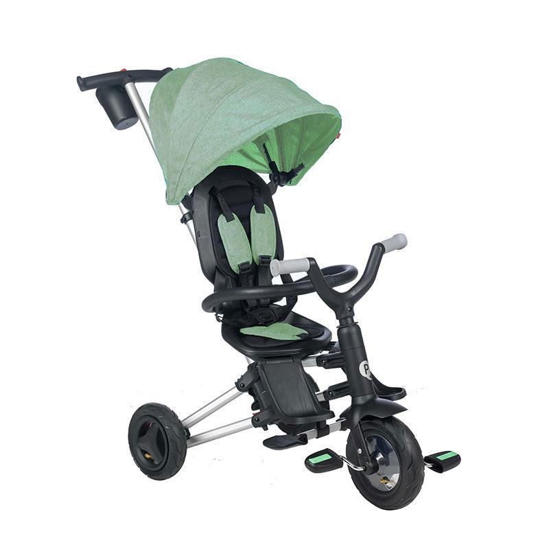 Preklopni tricikl QPLAY NOVA 360, light green