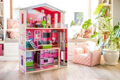 Drvena kućica za djevojčice ISABELLA